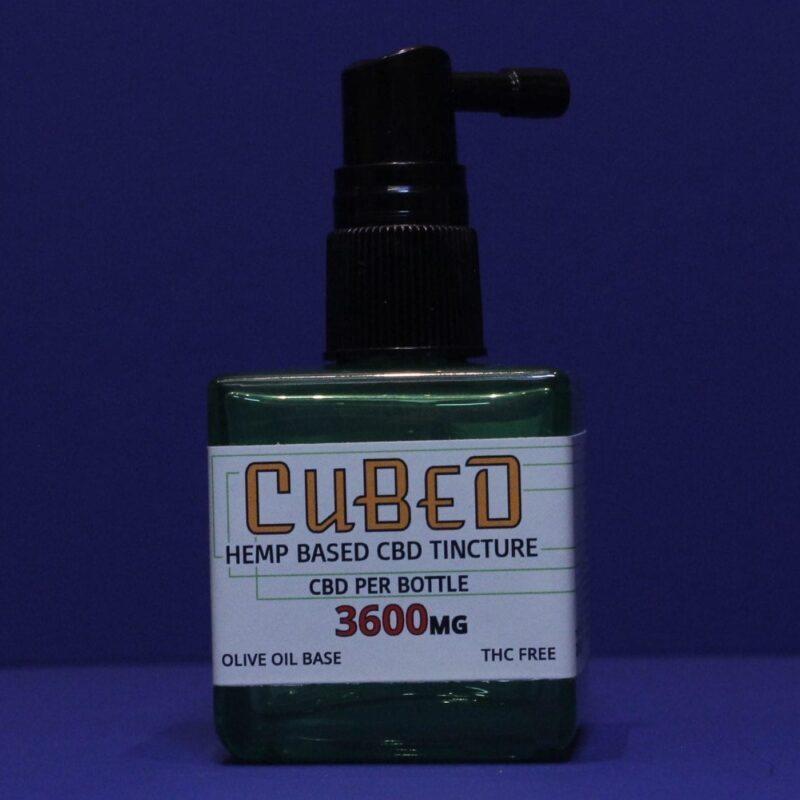 Single: CUBED GOLD TINCTURE
